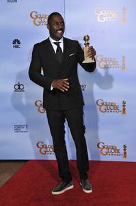 """The Golden Globe Awards - 69th Annual"" (Press Room) Idris Elba1-15-2012 © 2012 Jean Cummings - Image 24150_0047"