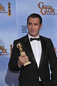"""The Golden Globe Awards - 69th Annual"" (Press Room) Jean Dujardin1-15-2012 © 2012 Jean Cummings - Image 24150_0050"