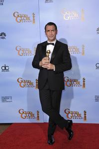 """The Golden Globe Awards - 69th Annual"" (Press Room) Jean Dujardin1-15-2012 © 2012 Jean Cummings - Image 24150_0054"
