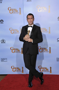 """The Golden Globe Awards - 69th Annual"" (Press Room) Jean Dujardin1-15-2012 © 2012 Jean Cummings - Image 24150_0054"