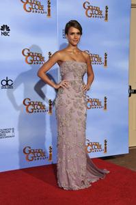 """The Golden Globe Awards - 69th Annual"" (Press Room) Jessica Alba1-15-2012 © 2012 Jean Cummings - Image 24150_0056"