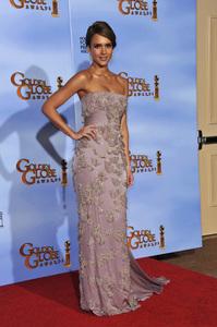 """The Golden Globe Awards - 69th Annual"" (Press Room) Jessica Alba1-15-2012 © 2012 Jean Cummings - Image 24150_0057"