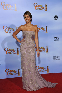 """The Golden Globe Awards - 69th Annual"" (Press Room) Jessica Alba1-15-2012 © 2012 Jean Cummings - Image 24150_0058"