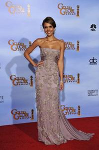 """The Golden Globe Awards - 69th Annual"" (Press Room) Jessica Alba1-15-2012 © 2012 Jean Cummings - Image 24150_0059"