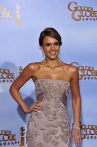 """The Golden Globe Awards - 69th Annual"" (Press Room) Jessica Alba1-15-2012 © 2012 Jean Cummings - Image 24150_0060"