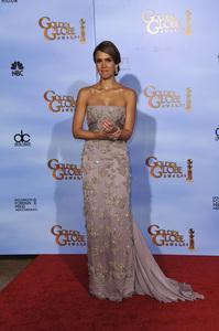"""The Golden Globe Awards - 69th Annual"" (Press Room) Jessica Alba1-15-2012 © 2012 Jean Cummings - Image 24150_0061"