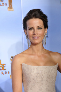"""""""The Golden Globe Awards - 69th Annual"""" (Press Room) Kate Beckinsale1-15-2012 © 2012 Jean Cummings - Image 24150_0068"""