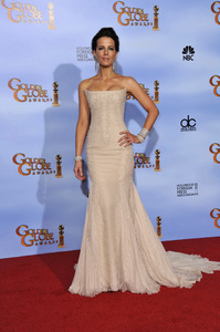 """""""The Golden Globe Awards - 69th Annual"""" (Press Room) Kate Beckinsale1-15-2012 © 2012 Jean Cummings - Image 24150_0069"""