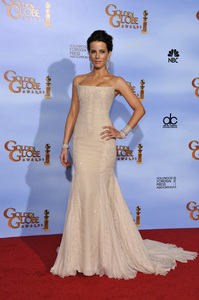 """""""The Golden Globe Awards - 69th Annual"""" (Press Room) Kate Beckinsale1-15-2012 © 2012 Jean Cummings - Image 24150_0071"""