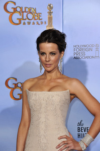 """""""The Golden Globe Awards - 69th Annual"""" (Press Room) Kate Beckinsale1-15-2012 © 2012 Jean Cummings - Image 24150_0072"""