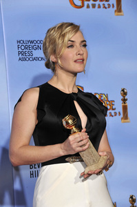 """The Golden Globe Awards - 69th Annual"" (Press Room) Kate Winslet1-15-2012 © 2012 Jean Cummings - Image 24150_0074"