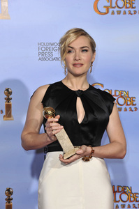 """""""The Golden Globe Awards - 69th Annual"""" (Press Room) Kate Winslet1-15-2012 © 2012 Jean Cummings - Image 24150_0075"""