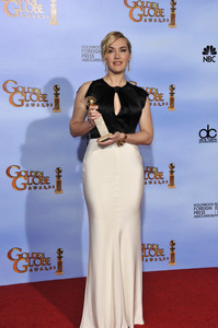 """The Golden Globe Awards - 69th Annual"" (Press Room) Kate Winslet1-15-2012 © 2012 Jean Cummings - Image 24150_0076"