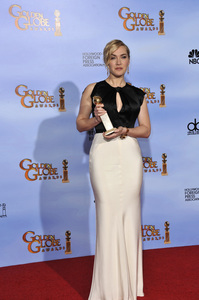 """The Golden Globe Awards - 69th Annual"" (Press Room) Kate Winslet1-15-2012 © 2012 Jean Cummings - Image 24150_0077"