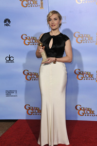 """""""The Golden Globe Awards - 69th Annual"""" (Press Room) Kate Winslet1-15-2012 © 2012 Jean Cummings - Image 24150_0078"""