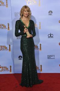 """The Golden Globe Awards - 69th Annual"" (Press Room) Laura Dern1-15-2012 © 2012 Jean Cummings - Image 24150_0084"