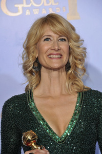 """The Golden Globe Awards - 69th Annual"" (Press Room) Laura Dern1-15-2012 © 2012 Jean Cummings - Image 24150_0085"