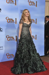 """""""The Golden Globe Awards - 69th Annual"""" (Press Room) Madonna1-15-2012 © 2012 Jean Cummings - Image 24150_0087"""