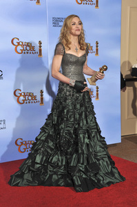 """""""The Golden Globe Awards - 69th Annual"""" (Press Room) Madonna1-15-2012 © 2012 Jean Cummings - Image 24150_0088"""