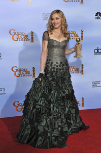"""The Golden Globe Awards - 69th Annual"" (Press Room) Madonna1-15-2012 © 2012 Jean Cummings - Image 24150_0090"
