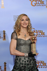 """""""The Golden Globe Awards - 69th Annual"""" (Press Room) Madonna1-15-2012 © 2012 Jean Cummings - Image 24150_0091"""