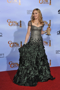 """""""The Golden Globe Awards - 69th Annual"""" (Press Room) Madonna1-15-2012 © 2012 Jean Cummings - Image 24150_0093"""