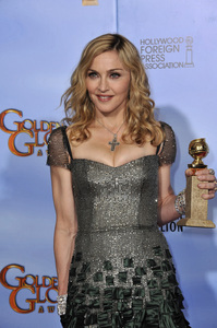 """""""The Golden Globe Awards - 69th Annual"""" (Press Room) Madonna1-15-2012 © 2012 Jean Cummings - Image 24150_0094"""
