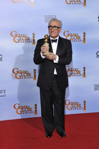 """The Golden Globe Awards - 69th Annual"" (Press Room) Martin Scorsese1-15-2012 © 2012 Jean Cummings - Image 24150_0100"