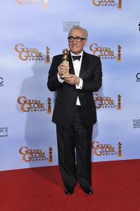 """The Golden Globe Awards - 69th Annual"" (Press Room) Martin Scorsese1-15-2012 © 2012 Jean Cummings - Image 24150_0100"