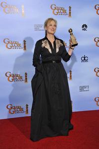 """The Golden Globe Awards - 69th Annual"" (Press Room) Meryl Streep1-15-2012 © 2012 Jean Cummings - Image 24150_0108"