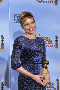 """""""The Golden Globe Awards - 69th Annual"""" (Press Room) Michelle Williams1-15-2012 © 2012 Jean Cummings - Image 24150_0113"""