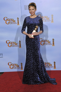 """""""The Golden Globe Awards - 69th Annual"""" (Press Room) Michelle Williams1-15-2012 © 2012 Jean Cummings - Image 24150_0117"""
