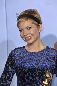 """""""The Golden Globe Awards - 69th Annual"""" (Press Room) Michelle Williams1-15-2012 © 2012 Jean Cummings - Image 24150_0118"""