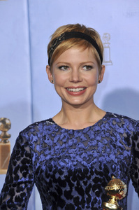 """""""The Golden Globe Awards - 69th Annual"""" (Press Room) Michelle Williams1-15-2012 © 2012 Jean Cummings - Image 24150_0119"""