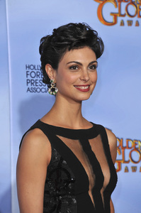 """""""The Golden Globe Awards - 69th Annual"""" (Press Room) Morena Baccarin1-15-2012 © 2012 Jean Cummings - Image 24150_0126"""