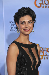 """""""The Golden Globe Awards - 69th Annual"""" (Press Room) Morena Baccarin1-15-2012 © 2012 Jean Cummings - Image 24150_0127"""