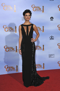"""""""The Golden Globe Awards - 69th Annual"""" (Press Room) Morena Baccarin1-15-2012 © 2012 Jean Cummings - Image 24150_0128"""