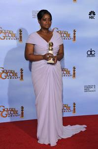 """The Golden Globe Awards - 69th Annual"" (Press Room) Octavia Spencer1-15-2012 © 2012 Jean Cummings - Image 24150_0131"