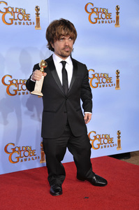 """""""The Golden Globe Awards - 69th Annual"""" (Press Room) Peter Dinklage1-15-2012 © 2012 Jean Cummings - Image 24150_0134"""
