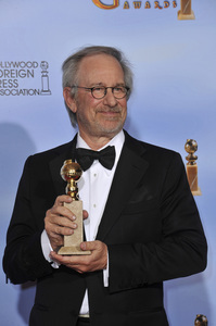 """The Golden Globe Awards - 69th Annual"" (Press Room) Steven Spielberg1-15-2012 © 2012 Jean Cummings - Image 24150_0139"