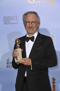 """The Golden Globe Awards - 69th Annual"" (Press Room) Steven Spielberg1-15-2012 © 2012 Jean Cummings - Image 24150_0141"
