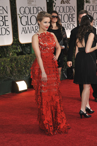 """""""The Golden Globe Awards - 69th Annual"""" (Arrivals) Dianna Agron1-15-2012 © 2012 Jean Cummings - Image 24150_0149"""