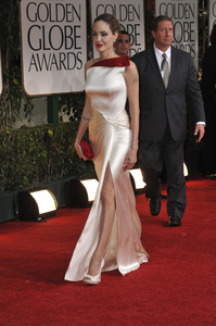 """""""The Golden Globe Awards - 69th Annual"""" (Arrivals) Angelina Jolie1-15-2012 © 2012 Jean Cummings - Image 24150_0157"""