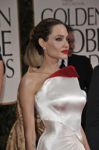 """""""The Golden Globe Awards - 69th Annual"""" (Arrivals) Angelina Jolie1-15-2012 © 2012 Jean Cummings - Image 24150_0158"""