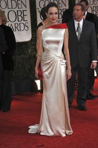 """""""The Golden Globe Awards - 69th Annual"""" (Arrivals) Angelina Jolie1-15-2012 © 2012 Jean Cummings - Image 24150_0159"""