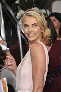 """The Golden Globe Awards - 69th Annual"" (Arrivals) Charlize Theron1-15-2012 © 2012 Jean Cummings - Image 24150_0181"