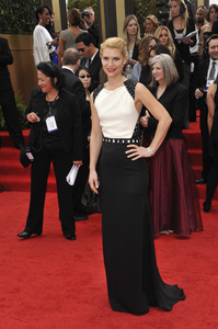 """""""The Golden Globe Awards - 69th Annual"""" (Arrivals) Claire Danes1-15-2012 © 2012 Jean Cummings - Image 24150_0193"""