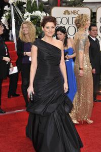 """The Golden Globe Awards - 69th Annual"" (Arrivals) Debra Messing1-15-2012 © 2012 Jean Cummings - Image 24150_0198"