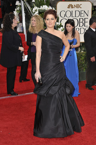 """The Golden Globe Awards - 69th Annual"" (Arrivals) Debra Messing1-15-2012 © 2012 Jean Cummings - Image 24150_0199"