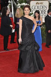 """The Golden Globe Awards - 69th Annual"" (Arrivals) Debra Messing1-15-2012 © 2012 Jean Cummings - Image 24150_0199"
